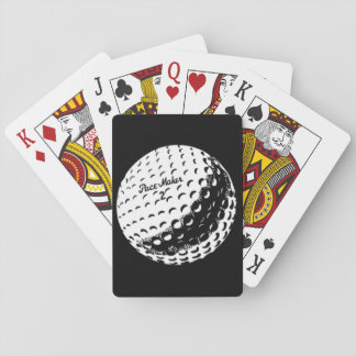 Vintage Golf ball playing cards