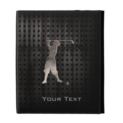 Vintage Golfer; Cool iPad Folio Cover