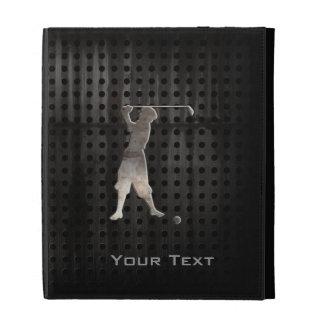 Vintage Golfer Cool iPad Folio Cover