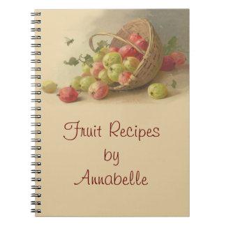 Vintage gooseberries notebooks