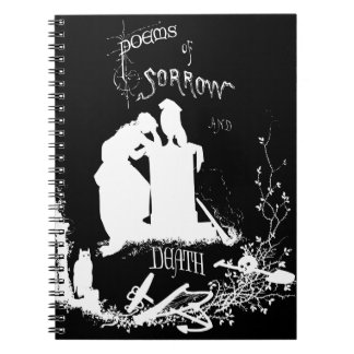 Vintage Gothic cover Notebook