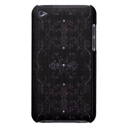 Vintage Gothic Elegance Jewels iPod Case-Mate Case