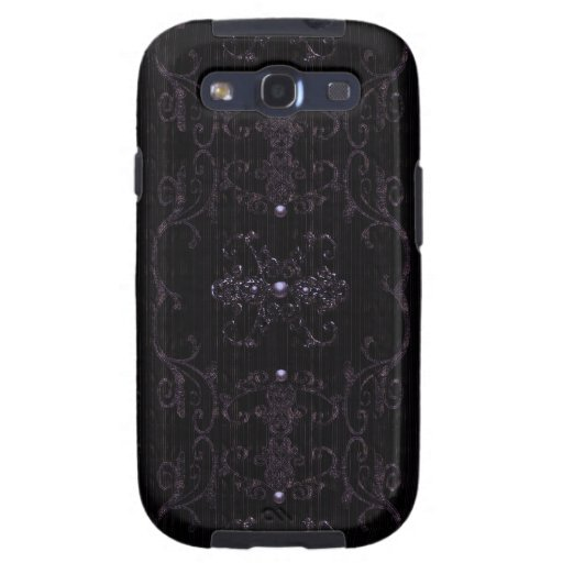 Vintage Gothic Elegance Jewels Samsung Galaxy SIII Cover