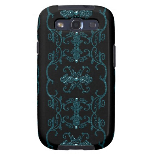 Vintage Gothic Elegance Jewels Galaxy S3 Cases