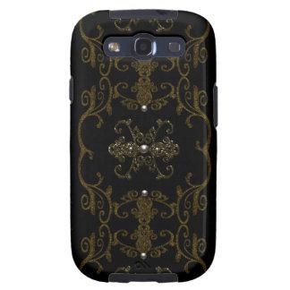 Vintage Gothic Elegance Jewels Samsung Galaxy S3 Case