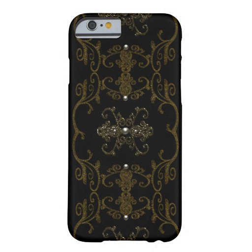 Vintage Gothic Elegance Jewels iPhone 6 Case