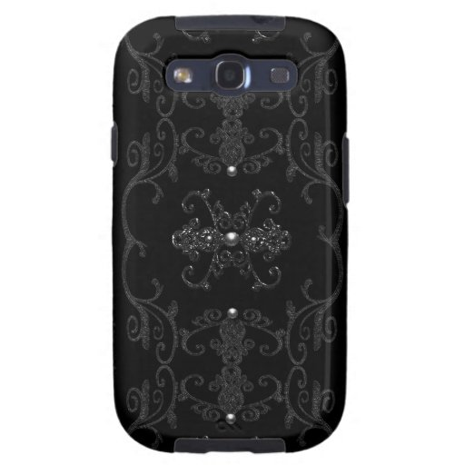 Vintage Gothic Elegance Jewels Galaxy S3 Covers