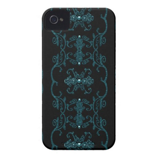 Vintage Gothic Elegance Jewels iPhone 4 Covers