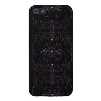 Vintage Gothic Elegance Jewels iPhone 5 Case