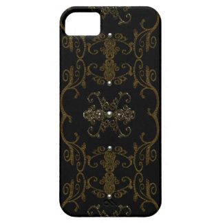 Vintage Gothic Elegance Jewels iPhone 5 Cover