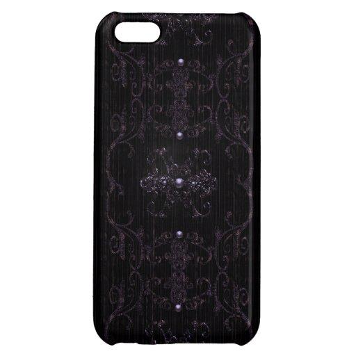 Vintage Gothic Elegance Jewels iPhone 5C Cover