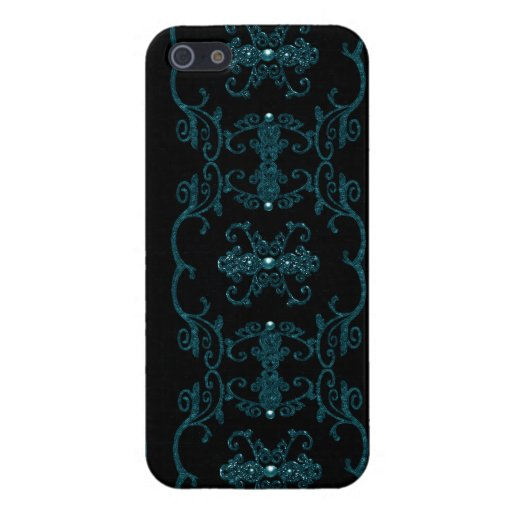 Vintage Gothic Elegance Jewels Covers For iPhone 5