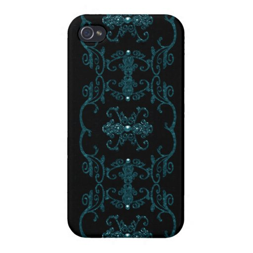 Vintage Gothic Elegance Jewels iPhone 4/4S Cover