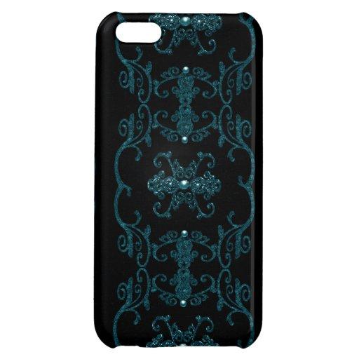 Vintage Gothic Elegance Jewels iPhone 5C Cases