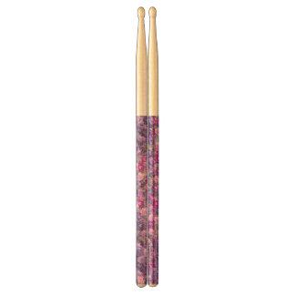 Vintage Gothic Rose Lavender Purple Drumsticks