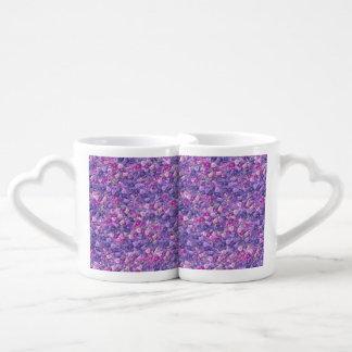 Vintage Gothic Rose Lavender Purple Lovers Mug