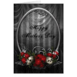 Vintage Gothic Skulls & Roses Mother's Day