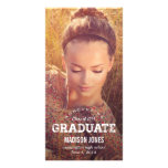 Vintage Grad Graduation Announcement