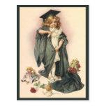 Vintage Graduation, Congratulations Class of 2012 Post Card