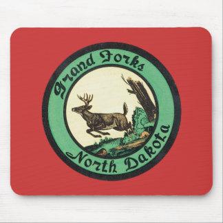 Vintage Grand Forks North Dakota Mouse Pad