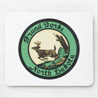 Vintage Grand Forks North Dakota Mouse Pads