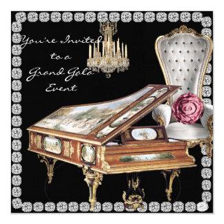 Vintage Grand Gala Event Invitation