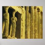 Vintage Greece, Athens, Acropolis, Parthenon Poster