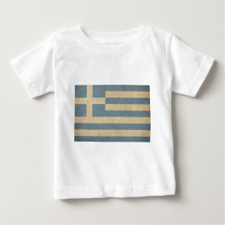 Vintage Greece Flag Baby T-Shirt