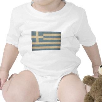 Vintage Greece Flag Tees
