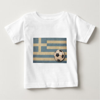 Vintage Greece Football Baby T-Shirt