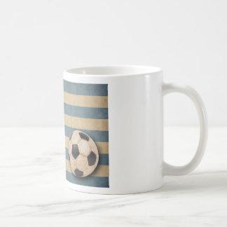 Vintage Greece Football Coffee Mugs