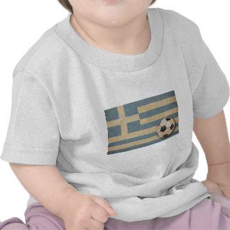 Vintage Greece Football Tee Shirt