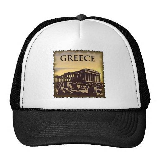 Vintage Greece Trucker Hat