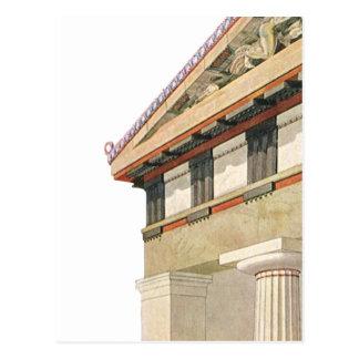 Vintage Greek Architecture, Temple of Athena Postcard