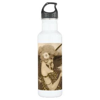 Vintage Greek Virgin With Harp 710 Ml Water Bottle