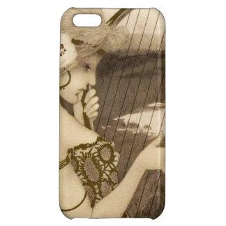 Vintage Greek Virgin With Harp iPhone 5 Case