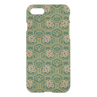 Vintage Green and Pink Japanese Floral iPhone 8/7 Case