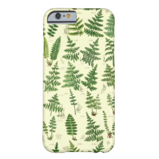 Vintage Green Leafy Plants Barely There iPhone 6 Case