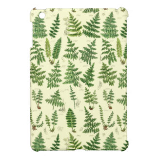 Vintage Green Leafy Plants Case For The iPad Mini