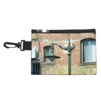 Vintage Green Street Lamp Accessory Bag