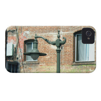 Vintage Green Street Lamp iPhone 4 Cases