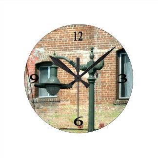 Vintage Green Street Lamp Clocks