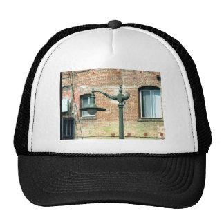 Vintage Green Street Lamp Mesh Hat