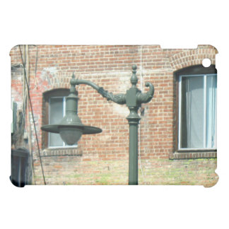 Vintage Green Street Lamp Cover For The iPad Mini