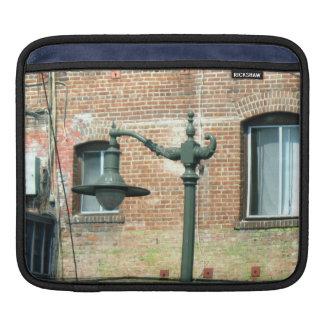 Vintage Green Street Lamp Sleeve For iPads