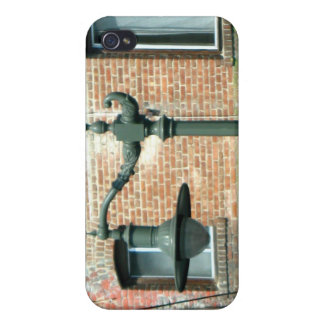 Vintage Green Street Lamp Covers For iPhone 4