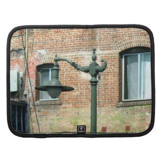 Vintage Green Street Lamp Organizer