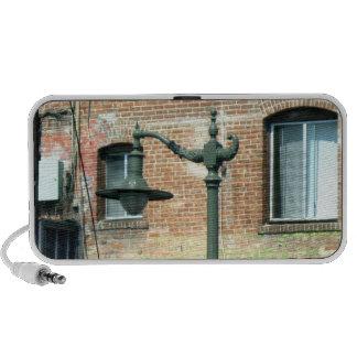 Vintage Green Street Lamp iPhone Speakers