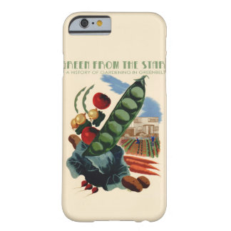 Vintage Greenbelt Motorola cases Barely There iPhone 6 Case