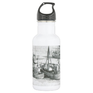 Vintage Greenland, Arctic Fishing Fleet 532 Ml Water Bottle